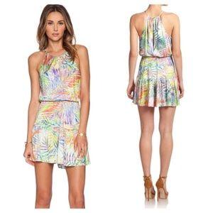 Parker Bombay Dress Palmetto Print Dress S